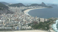 Stock Video Footage of 031 Rio, Helicopter flight, Aerial, Rio City, Christ the Redeemer, Corcovado.