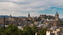 Edinburgh - stock footage