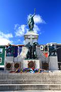 National war memorial in downtown st. john's newfoundland canada Stock Photos