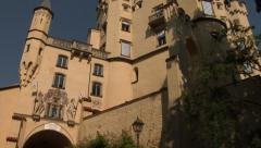 Hohenschwangau Castle, Bavaria, Germany Stock Footage
