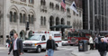 Ultra HD 4K Chicago Fire Department Superior Ambulance Service Passing USA Footage