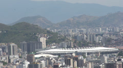 035 Rio, Maracana stadium, Final match 2014, FIFA2014 Stock Footage