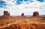 Stock Photo of monument valley
