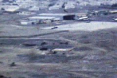 Aden British RAF Army airfield SD D002 Stock Footage