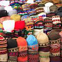 Stock Photo of fez market stall