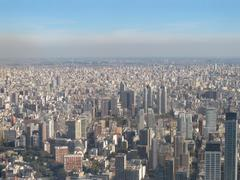 Aerial photo buenos aires, argentina Stock Photos