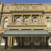 colon theatre, buenos aires, argentina. - stock photo
