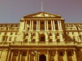 Stock Photo of retro looking bank of england