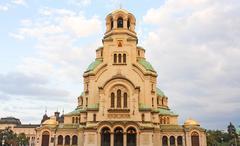 Saint alexander nevsky cathedral Stock Photos