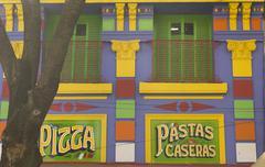 ols restaurant in buenos aires, argentina - stock photo