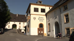 Bendictine Monastic Brewery in Ettal, Bavaria, Germany Stock Footage