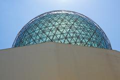 dome of the dali museum. - stock photo