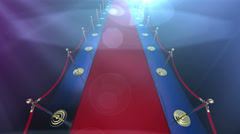 Loopable Red Carpet Event v2 Stock Footage