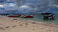 Footage Mabul Island, Borneo, Malaysia Stock Footage