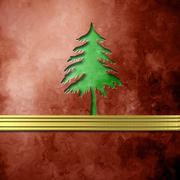 Elegant christmas background fir christmas Stock Illustration