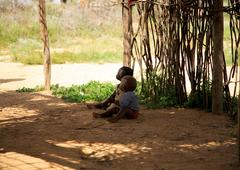 Samburu children Stock Photos