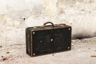 Stock Photo of Old vintage suitcase