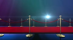 Loopable Red Carpet Event v3 Stock Footage