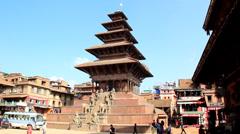 Bhakta pure In Nepal Stock Footage