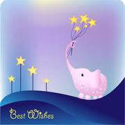Stock Illustration of best wishes