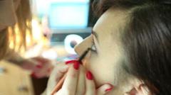 Makeup 2 Stock Footage