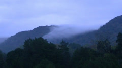 Mountian Fog Stock Footage