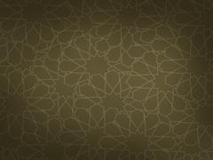 Classic arabic pattern Stock Illustration