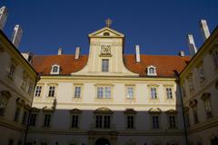 Chateau Valtice in Czech Republic - stock photo