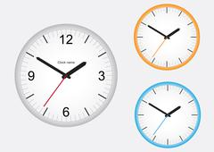 Clock - stock illustration