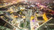 Stock Video Footage of 4k resolution Prores422 HQ, Beijing City night time lapse