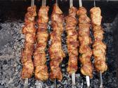 Stock Photo of Shish kebab preparation7