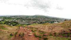 Stock Photo of view from arthur's seat, edinburgh