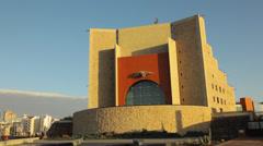 Auditorium Alfredo Kraus in Las Palmas de Gran Canaria, Spain Stock Footage