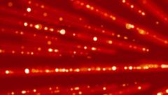 Red Lines of Light Technology Abstract Background Stock Footage