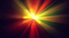 Laser Lights. Abstract nightclub background. Seamless loopable. - stock footage