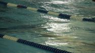Stock Video Footage of Swimmer competing