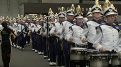 Marching Band, College Football Stock Footage