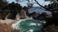 Stock Video Footage of Big Sur-McWay Falls-Wide 02