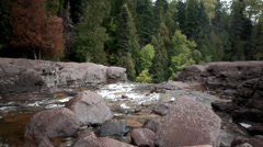 Gooseberry River - stock footage