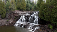 Gooseberry Falls - stock footage