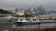 Stock Video Footage of Seattle Skyline