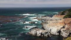 Big Sur 02 - stock footage