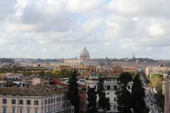 Panoramic Rome, Italy - stock photo