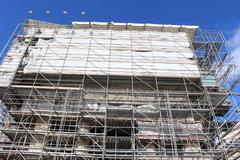 St Peters Basilica, Restructuring - stock photo