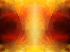 Abstract art - symmetrical Stock Illustration