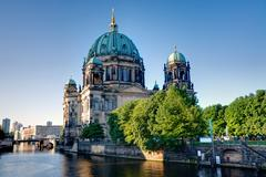 The backside of the Dom in Berlin Stock Photos