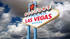 Las Vegas Sign Time Lapse - stock footage