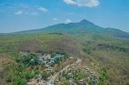 Stock Photo of Mountain village in Myanmar
