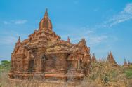 Stock Photo of Ancient Buddhist Temples in Bagan