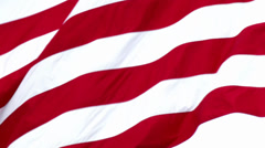 4K American Flag Slow Motion 3786 Stock Footage